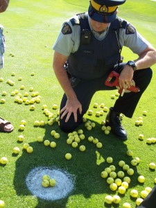 RCMP verifies winning 3 golf balls